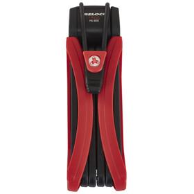 Trelock FS 300 Trigo vouwslot rood